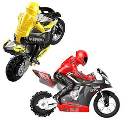 1:6 RC Motorcycles Racing Game Toy 2.4Ghz 360° Drifting Mot