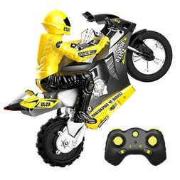 1/6 Remote Control Motorcycles Kids Game Toy Car w/ Lights H