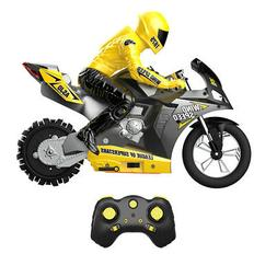 1:6 Scale Electric RC Motorcycles Kids Racing Game Toy w/ Li