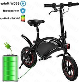 12''Folding Electric Bike Minitype City Bike Ebike,Man Woman