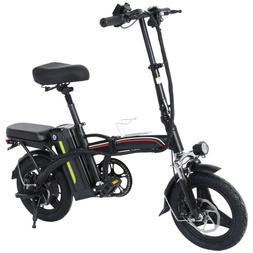 12'' Portable Electric Bike Mountain Bicycle Shimano Cycling