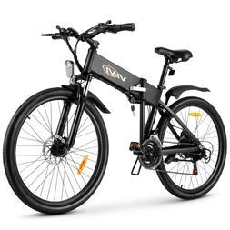 16'' Electric Bike Folding Bicycle City Ebike Urban Commuter