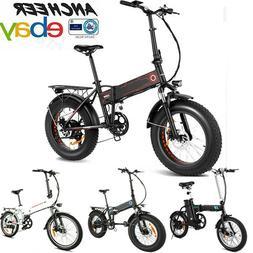 "20''/16"" 500W /250W Folding Electric Bike Mountain Ebike Cit"