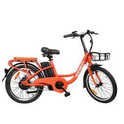 """NAKTO 20"""" Electric Bike 250W City E-Bike Removable 36V10AH L"""