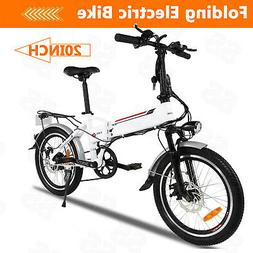 20'' Electric Bike Folding Bike City E*Bike Damping Bicycle