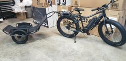 2019 Rambo Electric Bike R750 G4 Black-Charcoal  750W Free A