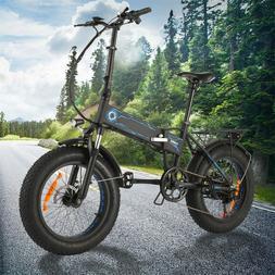 20INCH 500W Electric Bike Folding Fat-Tire Upgrade Snow Moun