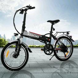 20INCH  Electric Bike Folding City Ebike 36V Lithium-Ion Bat