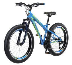 "Mongoose 24"" Bering Boys Mountain Bike-Blue"