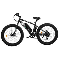 "26""500W 36V12.5Ah FatTire Mountain Beach Electric Bicycle Bi"