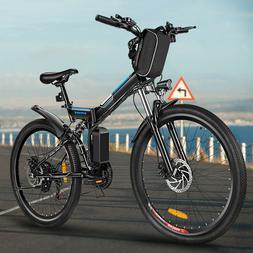 26'' Electric Bike E-bike Mountain Bicycles City Folding Cyc