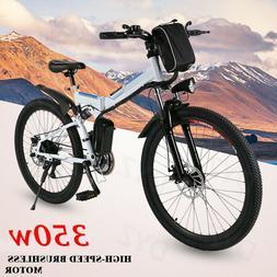 26'' Electric Bike Mountain Bicycle Adult City EBike 10.4Ah