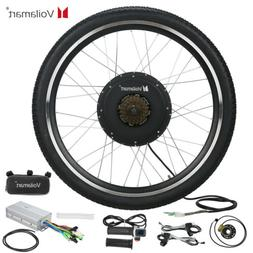 "26"" Electric Bike Rear Wheel Bicycle Conversion Kit Hub Moto"