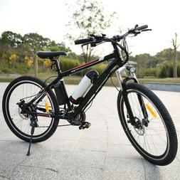 26'' Electric Mountain Bike Cycling E-MTB Bicycle E-bike 36V