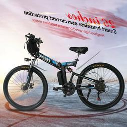 """26"""" Folding Electric 350W City Mountain Bike Cycling EBike 2"""
