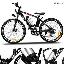 "26"" Folding Mountain Electric Bike Foldable Hybrid Bike eBik"