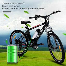 ANCHEER 26 in Electric Bike EBike Mountain Bicycle Cycling S