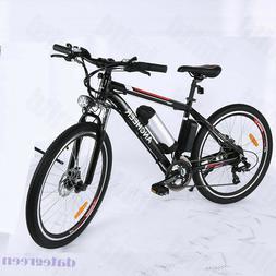 26 inch Electric Mountain Bike Cycling Bicycle E-Bike 21 Spe