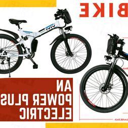 26INCH 350W Electric Bike Mountain Bicycle City Folding E-Bi