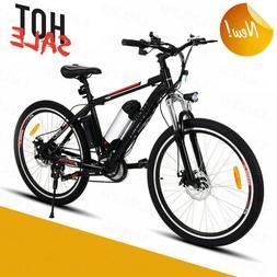 """250W Electric Bike Adult Electric Mountain Bike, 26"""" Electri"""