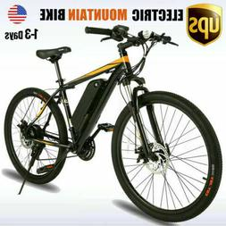 26INCH Electric Bike Mountain Bicycle Ebike 10.4A Lithium-Io