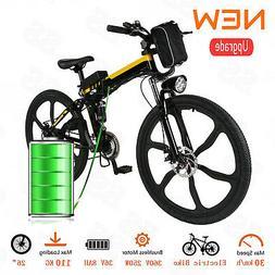 26inch Folding E-Bike 250W Electric Mountain Bicycle Motor P