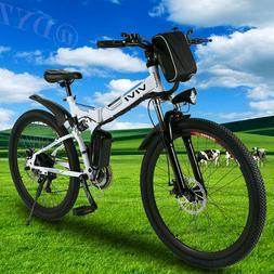 26INCH Folding Electric Bike Mountain Bicycle,City Ebike Shi
