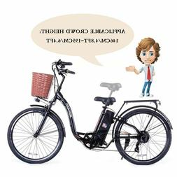 "SOHOO 36V350W10AH 26"" Electric Bicycle City E-Bike Mountai"