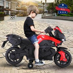 Kids Electric Motorcycle Car 6V Bike Battery Powered 4 Wheel