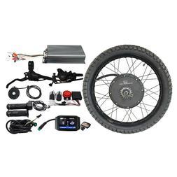 Powerful 48-72V 3000W-5000W Mountain Electric Bicycle Rear W