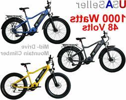 48V Ebike Electric Bike Bicycle Fat Tire Mid Drive Malibu 10