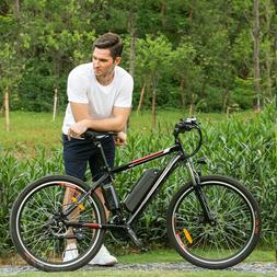 500W 26'' Electric Bike Mountain Bicycle E-Bike 12.5Ah Lithi