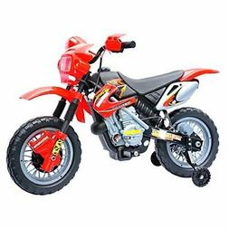 6V Electric Kids Ride On Motocross Outdoor Recreation Dirt B