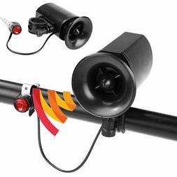 Bike Electric Horn 6 Sound Loud Bicycle Bell Ring Siren Alar
