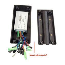 Black 2 Size Ebike Controller Box Li-ion Battery Case Plasti