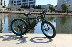 "New black 26"" 500W 36V Lithium battery Electric fat Bike Bea"