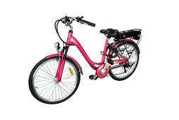 brand new electric bicycle metallic pink samsung