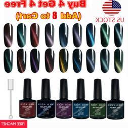 Cat Eye Gel Polish UV Soak Off LED Magnetic Stick Manicure N