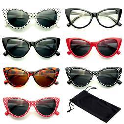 Classic Cat Eye Sunglasses Small Retro Vintage Women Fashion