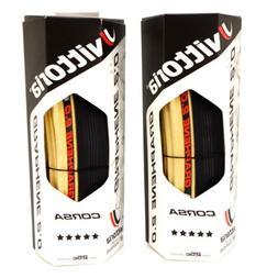 Vittoria Corsa G2.0 Competition 700 x 25C Skin Black Tan Par