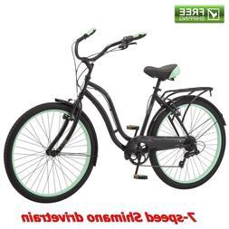 """Schwinn Cruiser Bike Women's 26""""Commuter Comfort City Be"""