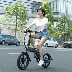 FIIDO D2S 16INCH Electric Bike Folding Bicycle EBike w/ 36V