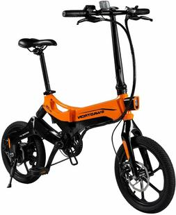 Swagtron EB7 Plus Folding Electric Bike w/ Removable Battery