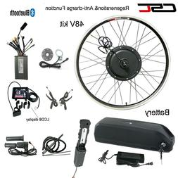 Ebike Conversion Motor Hub Wheel Kit 48V 1500W Electric Bicy
