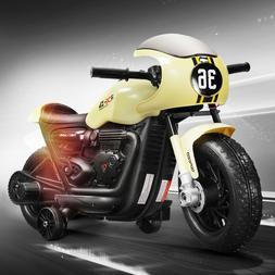 Electric 6V Kids Ride On Motorcycle Car Driving Motorbike Ri