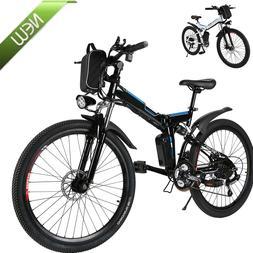 Electric Bicycle 26'' Electric Mountain Bike Adult  250W Pow