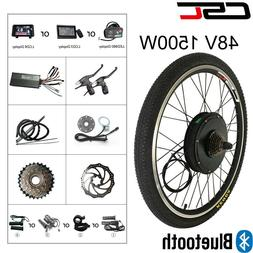 Electric Bicycle Conversion Kit 48V 1500W Bluetooth bike Fro