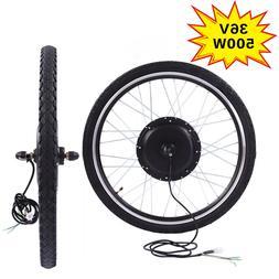 36V 500W Electric Bicycle E Bike Motor Conversion Kit Front