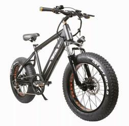 "Electric Bike 350W Folding 20"" Fat Tire Electric Bikes 6-Spe"