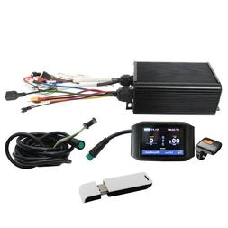 Electric Bike 36-72V 45A 1000W-2000W Controller+ Color LCD +